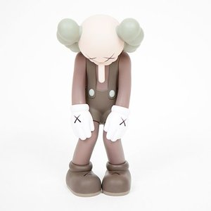 "Medicom Toys 11"" Small Lie (Brown) by KAWS x Medicom Toys"