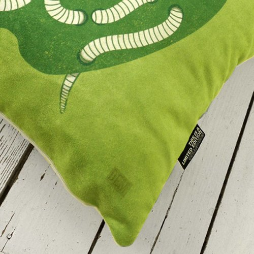 Live Well Pillow by Dale Edwin Murray
