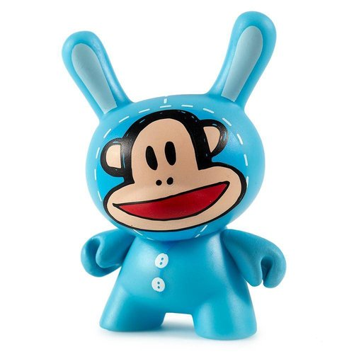 Kidrobot Julius 2/24 (Blue) by Paul Frank Dcon Designer Con Dunny series