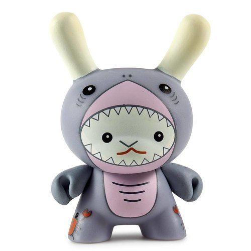 Kidrobot Shark 2/24 by Flat Bonnie Dcon Designer Con Dunny series