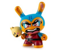 Shao Ru the Kung Fu 3/24 (Blue) by Jerome Lu Dcon Designer Con Dunny series
