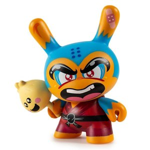 Kidrobot Shao Ru the Kung Fu 3/24 (Blue) by Jerome Lu Dcon Designer Con Dunny series