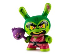 Shao Ru the Kung Fu 3/48 (Green) by Jerome Lu Dcon Designer Con Dunny series