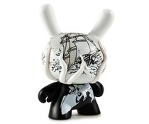 The Kraken 2/24 (White) by Jon-Paul Kaiser Dcon Designer Con Dunny series