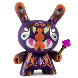 Kidrobot The Jewel Guardian 1/24 by Christopher Lee Dcon Designer Con Dunny series