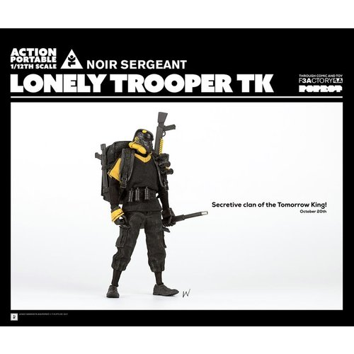 3A Toys 1/12 Lonely Trooper TK Noir Sergeant by Ashley Wood