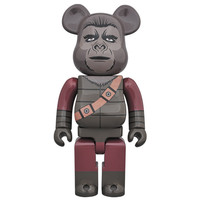 400%  Bearbrick - Soldier Ape (Planet of the Apes)