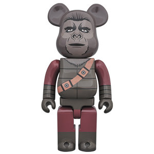 Medicom Toys 400%  Bearbrick - Soldier Ape (Planet of the Apes)