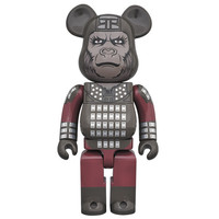 400%  Bearbrick - Captain Ursus (Planet of the Apes)