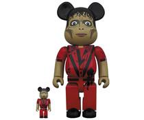 Medicom Toys [PO] 400% & 100% Bearbrick set - Michael Jackson (Zombie)