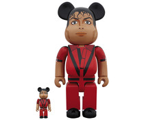 Medicom Toys [PO] 400% & 100% Bearbrick set - Michael Jackson (Original)