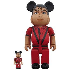Medicom Toys 400% & 100% Bearbrick set - Michael Jackson (Original)