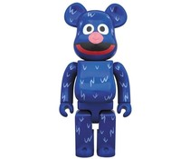 Medicom Toys [PO] 400% Bearbrick - Grover (Sesame Street)