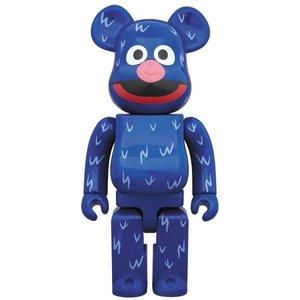 Medicom Toys 400% Bearbrick - Grover (Sesame Street)