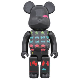 Medicom Toys 400% Bearbrick - Space Invaders