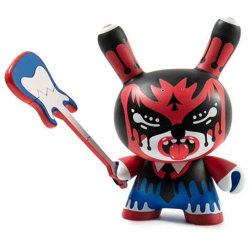 "Kidrobot 5"" Zmirky Dunny (Red & Blue) by Roman Klonek"