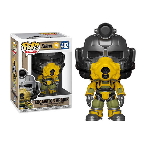 Funko Excavator Armor #482 (Fallout 76) POP! Games