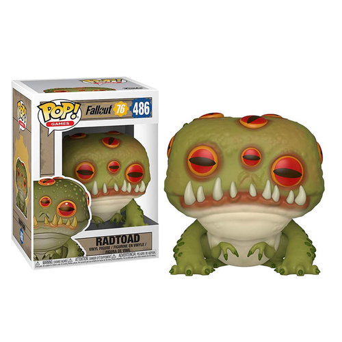 Funko Radtoad #486 (Fallout 76) POP! Games