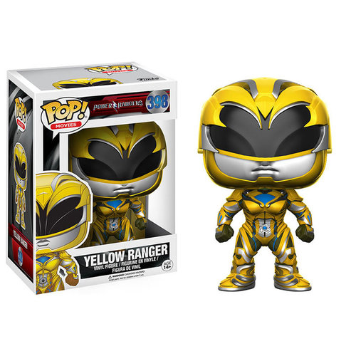Funko Yellow Ranger #398 (Power Rangers) POP! Movies