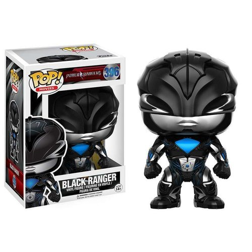 Funko Black Ranger #396 (Power Rangers) POP! Movies