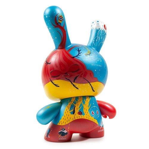 "Kidrobot 8"" Tlaloc Dunny by Jessie Hernandez - Copy"