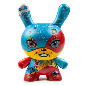 "Kidrobot 8"" Good 4 Nothing Dunny by 64 Colors"