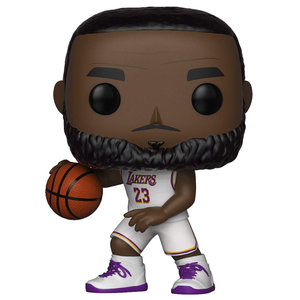 Funko LeBron James - White Jersey #52 (LA Lakers) POP! Sports
