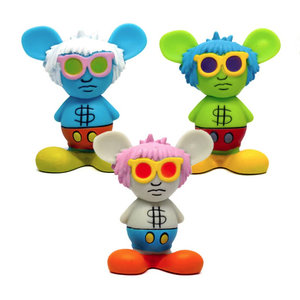 Medicom Toys Andy Mouse - Keith Haring Mini VCD Series