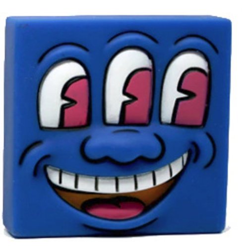 Medicom Toys Three Eyed Smiling Face - Keith Haring Mini VCD Series