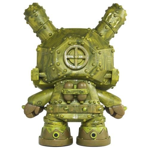 "Kidrobot 8"" Mecha Dunny (MDA3 Green) by Frank Kozik"