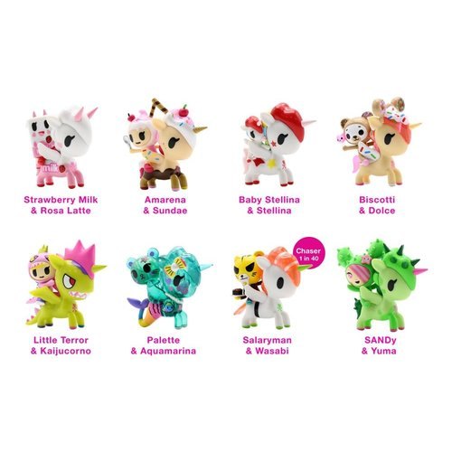 Tokidoki Unicorno & Friends series (1x Blindbox)