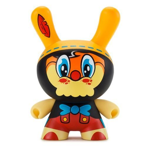 "Kidrobot 8"" No Strings on Me Dunny by WuzOne"