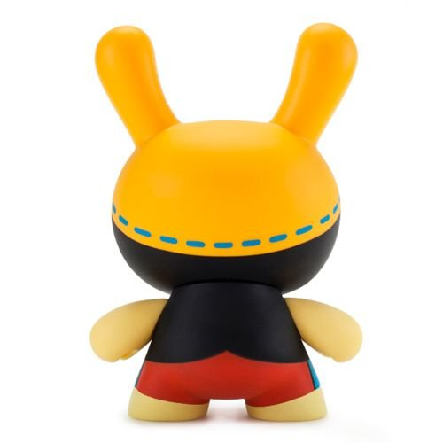 """Kidrobot 8"""" No Strings on Me Dunny by WuzOne"""