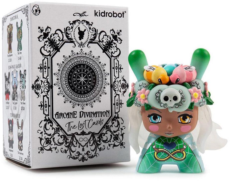 Arcane Divination Mini Series 2 Vinyl Figure Kidrobot Brand New Judgement
