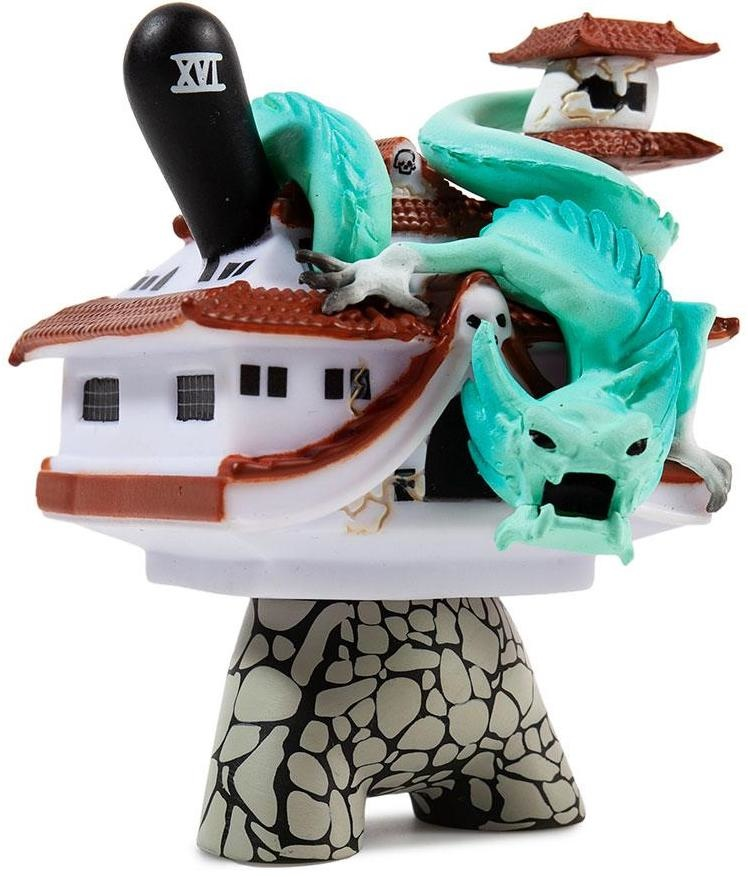 Kidrobot Arcane Divination Dunny 2 The Lost Cards The Chariot Worldwide Free S//H