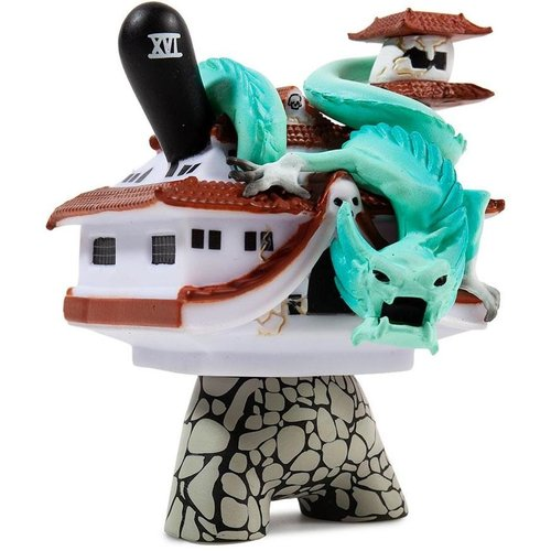 Kidrobot Fortitude 2/20 (Jon-Paul Kaiser) - Arcane Divination Dunny series 2 - Copy