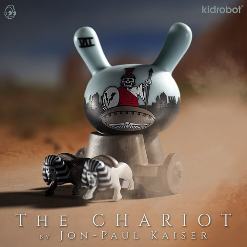 Kidrobot The Chariot 1/20 (Jon-Paul Kaiser) - Arcane Divination Dunny series 2