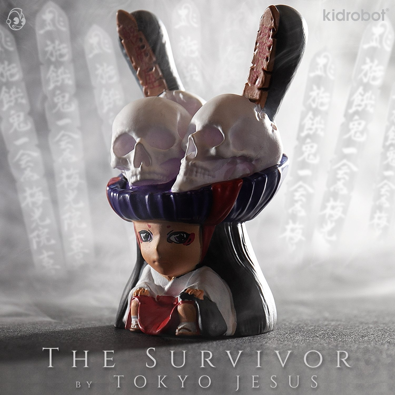 Kidrobot Arcane Divination Lost Cards The Survivor by Tokyo Jesus