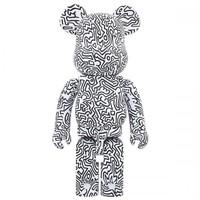 1000% Bearbrick - Keith Haring V4