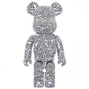 Medicom Toys [PO] 1000% Bearbrick - Keith Haring V4