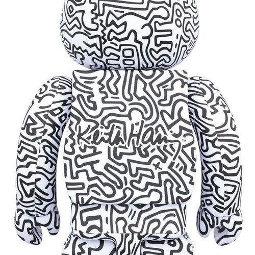 Medicom Toys [PRE-ORDER] 1000% Bearbrick - Keith Haring V4
