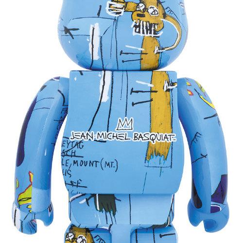 Medicom Toys 1000% Bearbrick - Jean-Michel Basquiat (V4)