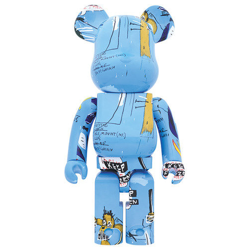 Medicom Toys [PO] 1000% Bearbrick - Jean-Michel Basquiat (V4)