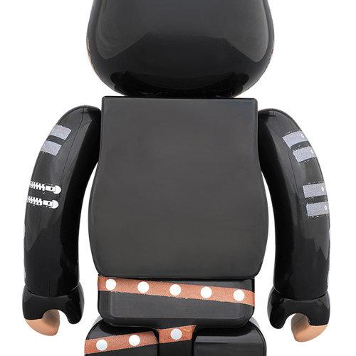 Medicom Toys 400% & 100% Bearbrick set - Michael Jackson (Bad)