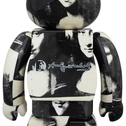 Medicom Toys 1000% Bearbrick - Andy Warhol (Mona Lisa)
