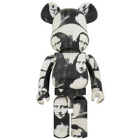 1000% Bearbrick - Andy Warhol (Mona Lisa)