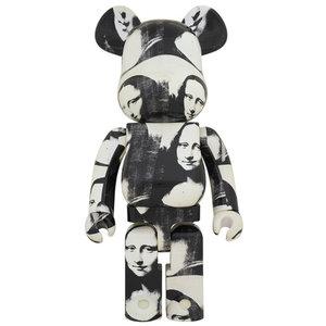 Medicom Toys [PO] 1000% Bearbrick - Andy Warhol (Mona Lisa)