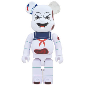 Medicom Toys [PO] 1000% Bearbrick - Angry Face - Stay Puft (Ghostbusters)