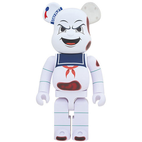 Medicom Toys 1000% Bearbrick - Angry Face - Stay Puft (Ghostbusters)