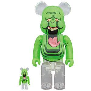 Medicom Toys [PO] 400% & 100% Bearbrick set - Slimer